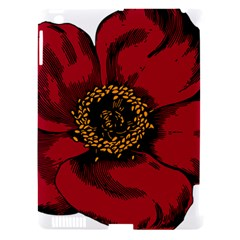 Floral Flower Petal Plant Apple Ipad 3/4 Hardshell Case (compatible With Smart Cover) by Celenk