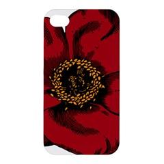 Floral Flower Petal Plant Apple Iphone 4/4s Premium Hardshell Case by Celenk