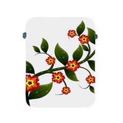 Flower Branch Nature Leaves Plant Apple Ipad 2/3/4 Protective Soft Cases by Celenk
