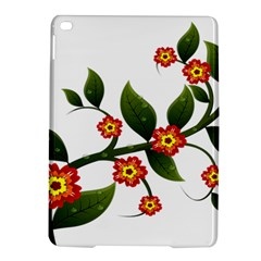 Flower Branch Nature Leaves Plant Ipad Air 2 Hardshell Cases by Celenk