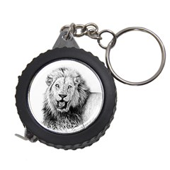 Lion Wildlife Art And Illustration Pencil Measuring Tape by Celenk