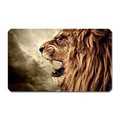 Roaring Lion Magnet (rectangular) by Celenk