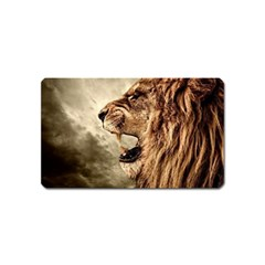 Roaring Lion Magnet (name Card) by Celenk