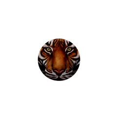 The Tiger Face 1  Mini Magnets by Celenk