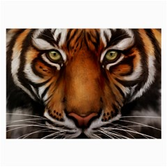 The Tiger Face Large Glasses Cloth (2 Side) by Celenk