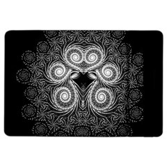 Fractal Filigree Lace Vintage Ipad Air 2 Flip by Celenk