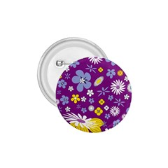 Floral Flowers 1 75  Buttons by Celenk