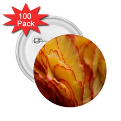 Flowers Leaves Leaf Floral Summer 2 25  Buttons (100 Pack)  by Celenk