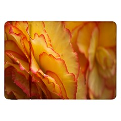 Flowers Leaves Leaf Floral Summer Samsung Galaxy Tab 8 9  P7300 Flip Case by Celenk
