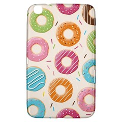 Colored Doughnuts Pattern Samsung Galaxy Tab 3 (8 ) T3100 Hardshell Case  by allthingseveryday