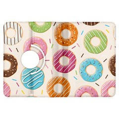 Colored Doughnuts Pattern Kindle Fire Hdx Flip 360 Case by allthingseveryday