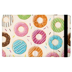 Colored Doughnuts Pattern Apple Ipad Pro 12 9   Flip Case by allthingseveryday