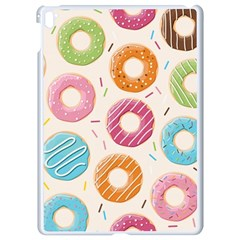 Colored Doughnuts Pattern Apple Ipad Pro 9 7   White Seamless Case by allthingseveryday