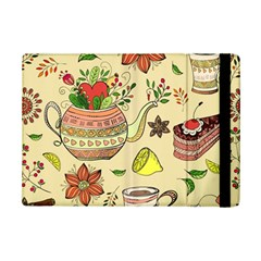Colored Afternoon Tea Pattern Ipad Mini 2 Flip Cases by allthingseveryday