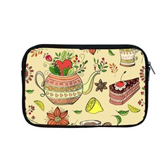 Colored Afternoon Tea Pattern Apple Macbook Pro 13  Zipper Case by allthingseveryday