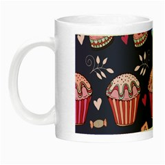 Afternoon Tea And Sweets Night Luminous Mugs by allthingseveryday