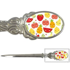 Happy Fruits Pattern Letter Openers by allthingseveryday