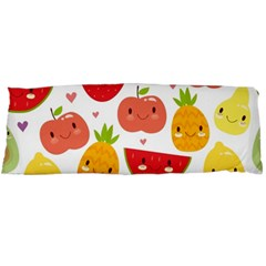 Happy Fruits Pattern Body Pillow Case Dakimakura (two Sides) by allthingseveryday