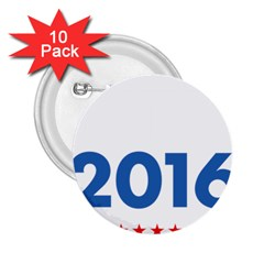 Wtf? 2016 2 25  Buttons (10 Pack)  by dreiser