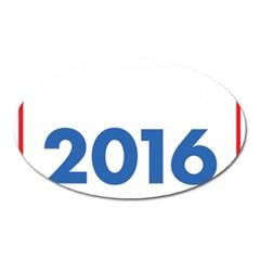 Wtf? 2016 Oval Magnet by dreiser
