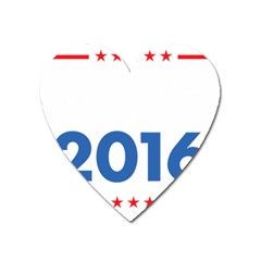 Wtf? 2016 Heart Magnet by dreiser