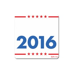 Wtf? 2016 Square Magnet by dreiser