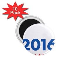 Wtf? 2016 1 75  Magnets (10 Pack)  by dreiser