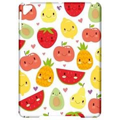 Happy Fruits Pattern Apple Ipad Pro 9 7   Hardshell Case by allthingseveryday