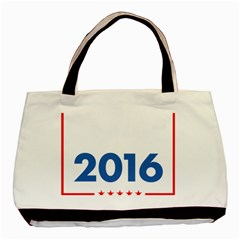 Wtf? 2016 Basic Tote Bag (two Sides) by dreiser