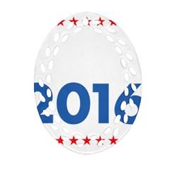 Wtf? 2016 Ornament (oval Filigree) by dreiser