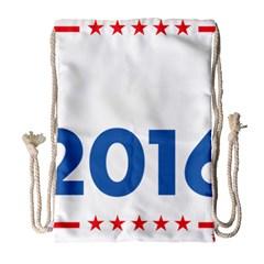 Wtf? 2016 Drawstring Bag (large) by dreiser