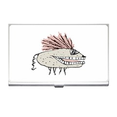 Monster Rat Hand Draw Illustration Business Card Holders by dflcprints