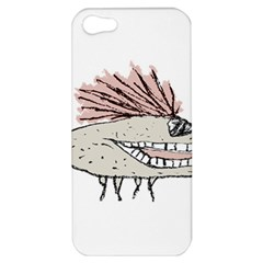 Monster Rat Hand Draw Illustration Apple Iphone 5 Hardshell Case by dflcprints