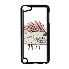 Monster Rat Hand Draw Illustration Apple Ipod Touch 5 Case (black) by dflcprints