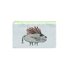 Monster Rat Hand Draw Illustration Cosmetic Bag (xs) by dflcprints