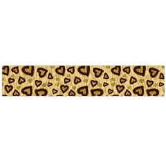 Leopard Heart 01 Large Flano Scarf  by jumpercat