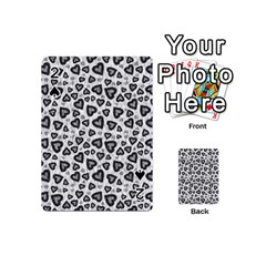 Leopard Heart 02 Playing Cards 54 (mini)  by jumpercat
