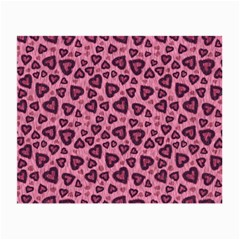 Leopard Heart 03 Small Glasses Cloth (2 Side)