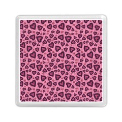 Leopard Heart 03 Memory Card Reader (square)  by jumpercat