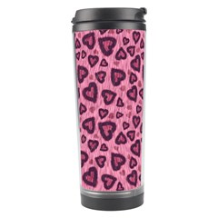 Leopard Heart 03 Travel Tumbler by jumpercat
