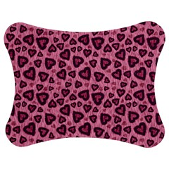Leopard Heart 03 Jigsaw Puzzle Photo Stand (bow)