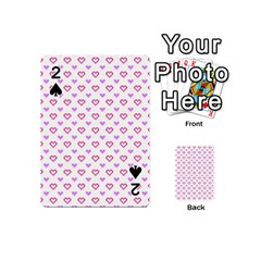Pixel Hearts Playing Cards 54 (mini)  by jumpercat