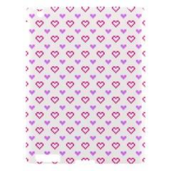 Pixel Hearts Apple Ipad 3/4 Hardshell Case by jumpercat