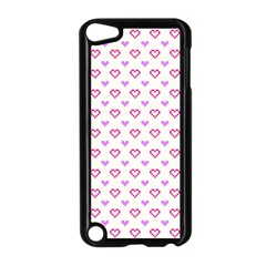 Pixel Hearts Apple Ipod Touch 5 Case (black) by jumpercat