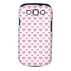 Pixel Hearts Samsung Galaxy S Iii Classic Hardshell Case (pc+silicone) by jumpercat
