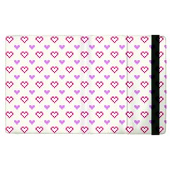 Pixel Hearts Apple Ipad Pro 9 7   Flip Case by jumpercat