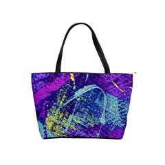 Ink Splash 01 Shoulder Handbags by jumpercat