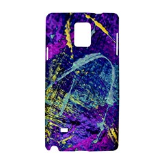 Ink Splash 01 Samsung Galaxy Note 4 Hardshell Case by jumpercat