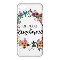 Choose Kidness Apple Iphone 5c Hardshell Case by SweetLittlePrint