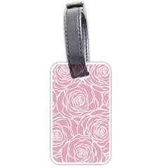 Pink Peonies Luggage Tags (one Side)  by 8fugoso